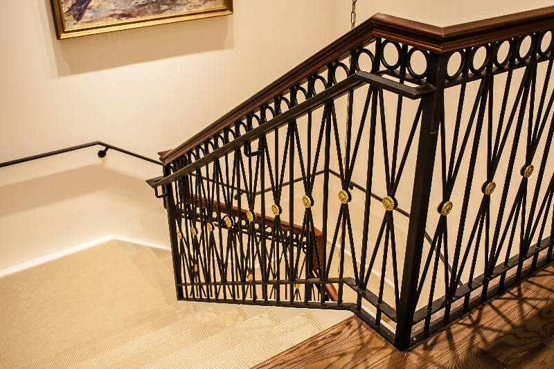 ornamental railings stairs ramos iron work